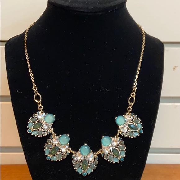 Multicolored Drop Necklace